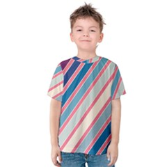 Colorful lines Kid s Cotton Tee