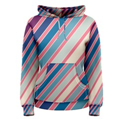 Colorful lines Women s Pullover Hoodie