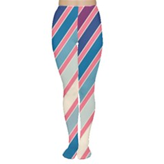 Colorful lines Women s Tights