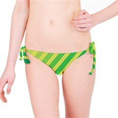 Green and yellow lines Bikini Bottom