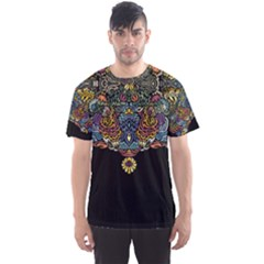 Eleanor pattern Men s Sport Mesh Tee