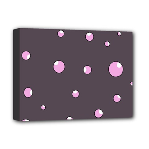 Pink bubbles Deluxe Canvas 16  x 12