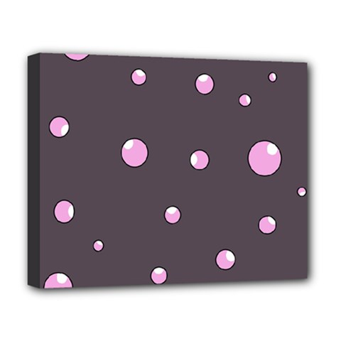 Pink bubbles Deluxe Canvas 20  x 16