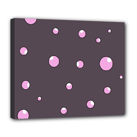 Pink bubbles Deluxe Canvas 24  x 20