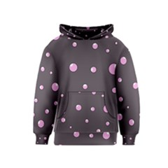 Pink bubbles Kids  Pullover Hoodie
