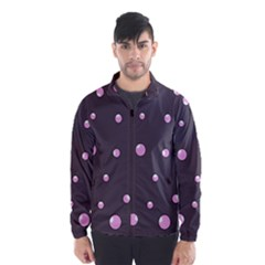 Pink bubbles Wind Breaker (Men)