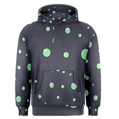 Green bubbles Men s Pullover Hoodie