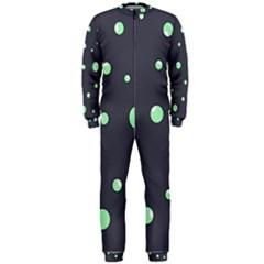 Green bubbles OnePiece Jumpsuit (Men)