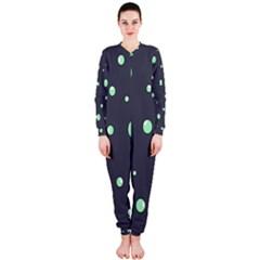 Green bubbles OnePiece Jumpsuit (Ladies)