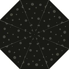 Gray bubbles Straight Umbrellas
