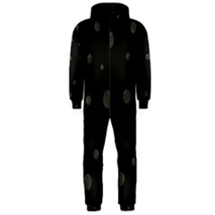 Gray bubbles Hooded Jumpsuit (Men)