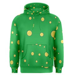 Yellow bubbles Men s Pullover Hoodie