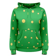 Yellow bubbles Women s Pullover Hoodie