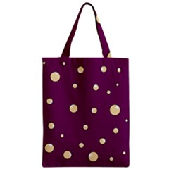 Purple and yellow bubbles Classic Tote Bag