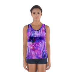 Purple Alcohol Ink Abstract Tops
