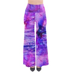 Purple Alcohol Ink Abstract Pants