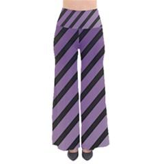 Purple elegant lines Pants