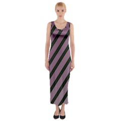 Elegant lines Fitted Maxi Dress