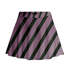 Elegant Lines Mini Flare Skirt