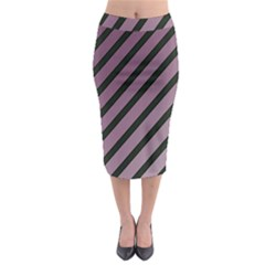 Elegant Lines Midi Pencil Skirt