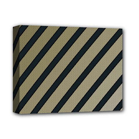 Decorative elegant lines Deluxe Canvas 14  x 11