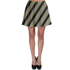 Decorative elegant lines Skater Skirt