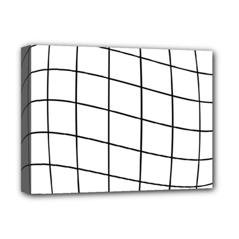 Simple lines Deluxe Canvas 16  x 12