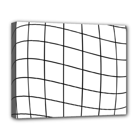 Simple lines Deluxe Canvas 20  x 16
