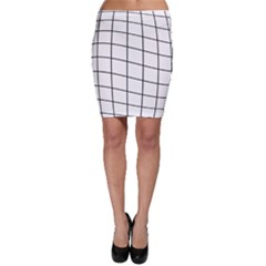 Simple lines Bodycon Skirt