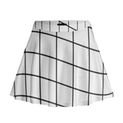 Simple lines Mini Flare Skirt