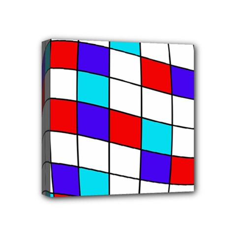Colorful cubes  Mini Canvas 4  x 4
