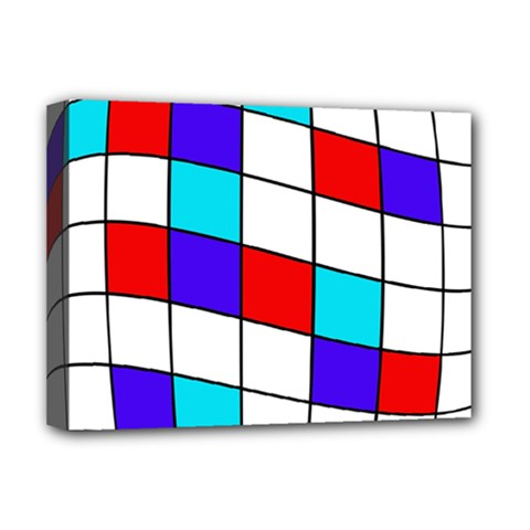 Colorful cubes  Deluxe Canvas 16  x 12