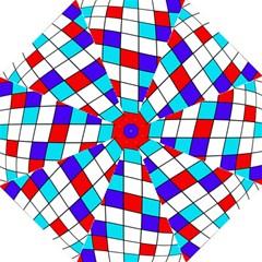 Colorful cubes  Golf Umbrellas