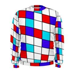 Colorful cubes  Men s Sweatshirt
