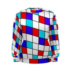 Colorful cubes  Women s Sweatshirt