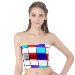 Colorful cubes  Tube Top