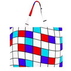 Colorful cubes  Large Tote Bag