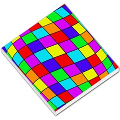 Colorful cubes Small Memo Pads