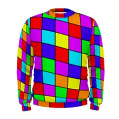 Colorful cubes Men s Sweatshirt