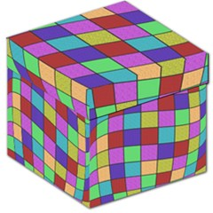 Colorful cubes  Storage Stool 12