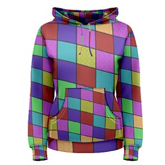 Colorful cubes  Women s Pullover Hoodie