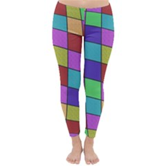 Colorful cubes  Winter Leggings