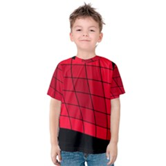 Red abstraction Kid s Cotton Tee