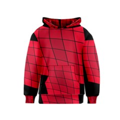 Red abstraction Kids  Pullover Hoodie