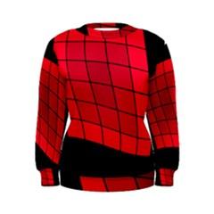 Red abstraction Women s Sweatshirt