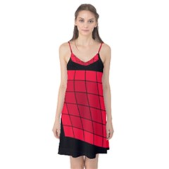 Red abstraction Camis Nightgown
