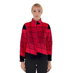 Red abstraction Winterwear