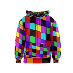 Colorful cubes  Kids  Zipper Hoodie