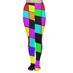 Colorful cubes  Women s Tights
