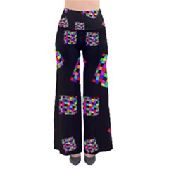 Flying  colorful cubes Pants